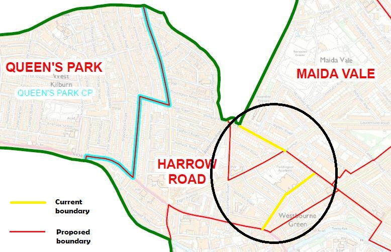 Should Harrow Road ward be called Maida Hill?