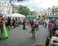 Irish Day, Maida Hill Piazza